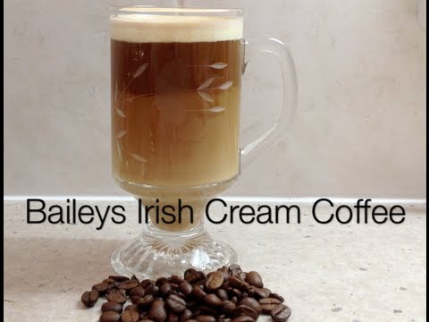 Baileys Irish Ceam Coffee Video Recipe cheekyricho
