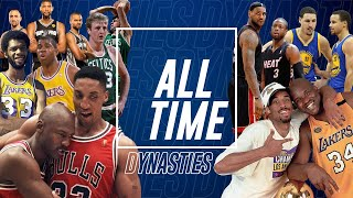 QUELLE EST LA PLUS GRANDE DYNASTIE NBA DE TOUS LES TEMPS ? TOP 10 ALL-TIME #8