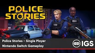 Police Stories - Single Player | Nintendo Switch Gameplay