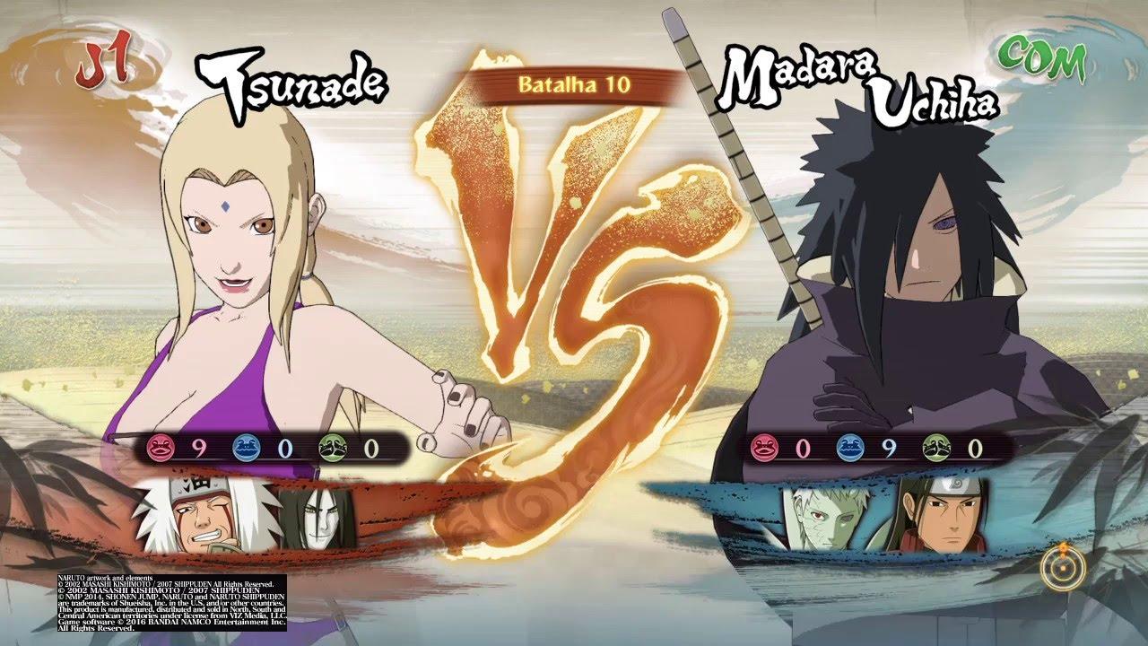 Naruto Storm TsunadedlcSwimsuitroupa De BanhoGameplay 4 WIEDH2Y9