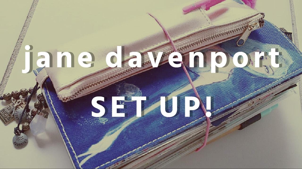 Jane Davenport Traveler S Notebook