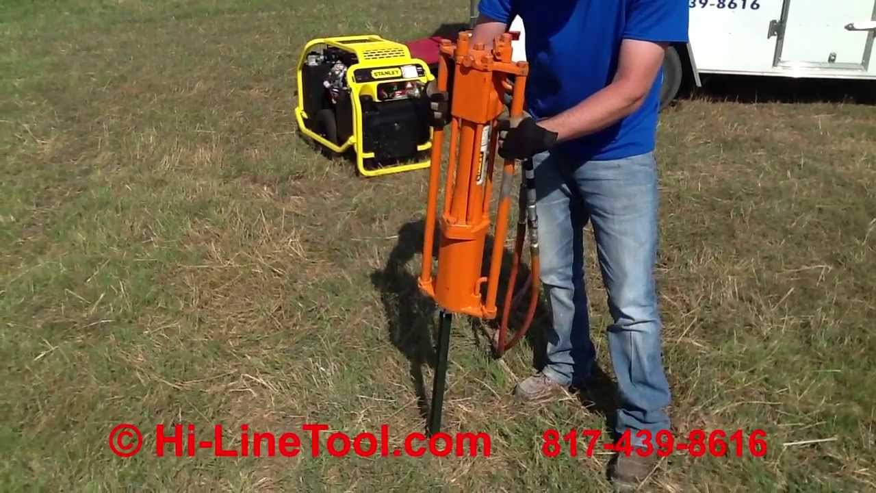 Fence Post Driver Hydraulic