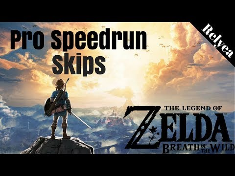 Epic Zelda Breath of the Wild Speed Run - Any% Skips and Tricks Compilation