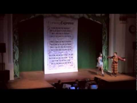Inverurie Panto 2010 Peter Pan Audiance Participation Song