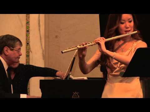 Kaori Fujii & Phillip Moll: Sonata by R.Muczynski - 4th mov. / 藤井香織&フィリップ・モル: ソナタより第4楽章 [ムチンスキー]