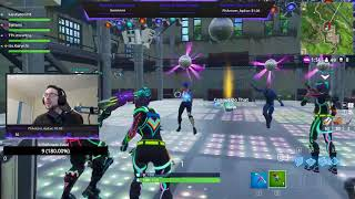 Fortnite Troll Sticky Grenade - Rave Party - Funny Clip