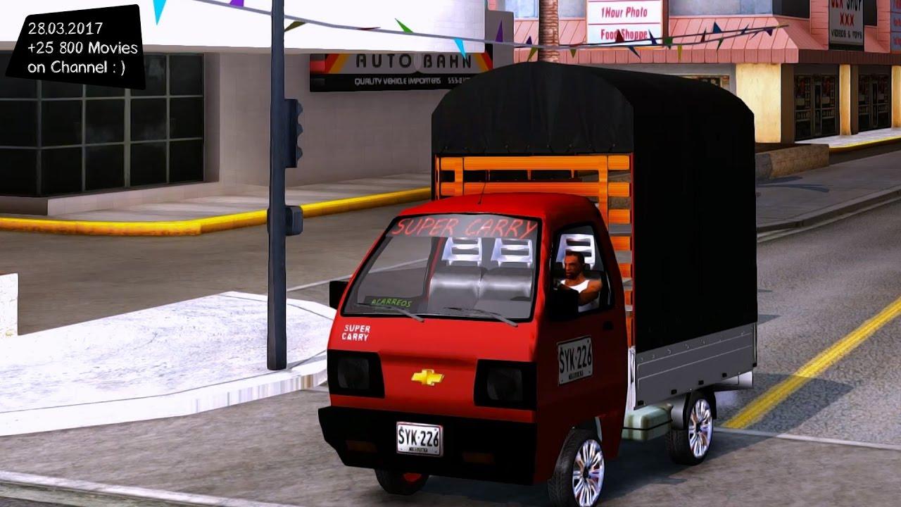 Suzuki Carry TURBO Mini Truck + 0-100 kph (0-60 mph) Run - YouTube