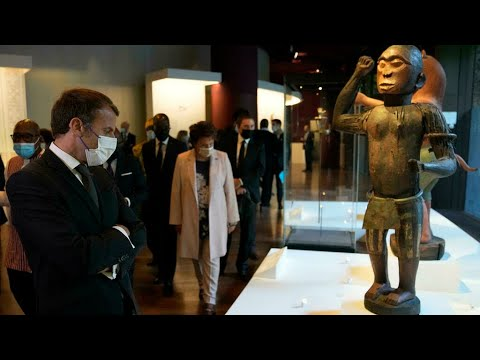 Download REPLAY- Emmanuel Macron s'exprime sur la restitution des œuvres d'art au Bénin • FRANCE 24