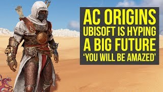 Assassin's Creed Origins DLC Ubisoft Is Hyping A BIG FUTURE (AC Origins DLC)
