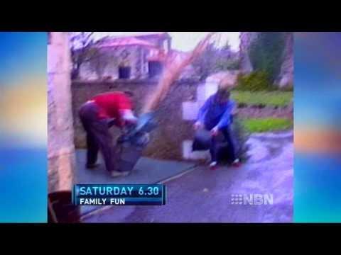 Australia's Funniest Home Videos 6:30 Saturday on NBN 24th July 2010