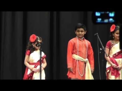 Poila Boishakh 1420 (2013): Mora Bangladesher  Theke Elam - song by kids