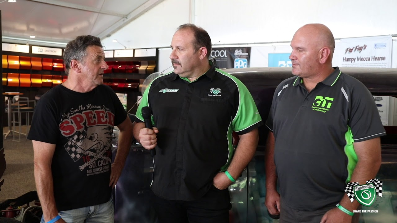 Summernats 32 - Pat Fays FJ Hearse - Shannons Insurance Chat