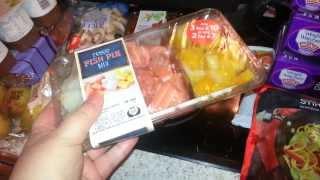 Tesco food haul  - low fat puddings? !?