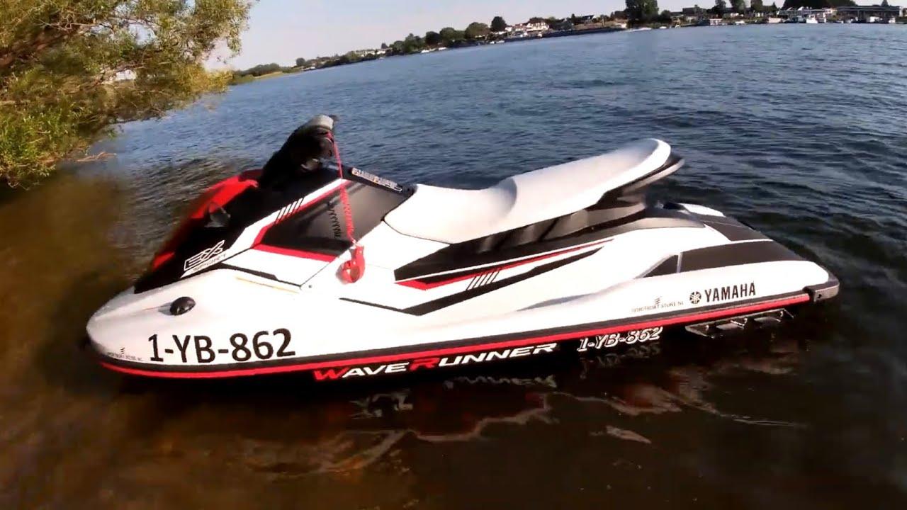 Yamaha Waverunner EX Sport // Test review - YouTube