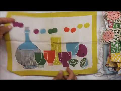 Doilies Linen & Fabric Haul | Estate Plus Pt. 2 | GTDesigns