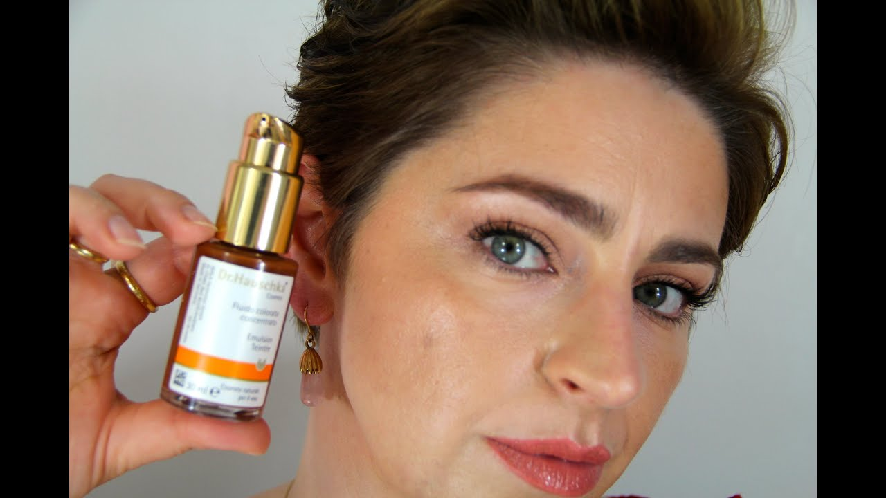 Docteur Ochka a bronzed glow with dr. hauschka's tinted emulsion - youtube