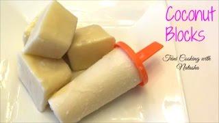 Coconut Ice BlocksCoconut PopsicleSuckabag Recipe - Episode 111