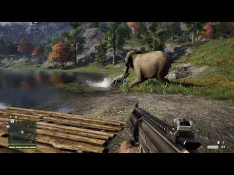 Far Cry 4 animals are GREAT