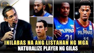SBP nilabas na ang mga pangalan na papalit kay Blatche bilang naturalize player ng Gilas!