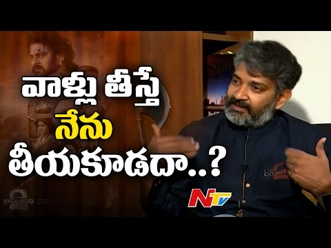 SS Rajamouli Clear Rumors About His Next Project || Baahubali 2 || NTV