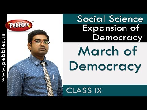 March of Democracy : Expansion of Democracy | Social | AP&TS Syllabus | Class 9