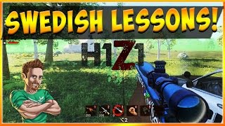 SWEDISH LESSONS - Sick Hunting Rifle BR H1Z1 Kotk Gameplay