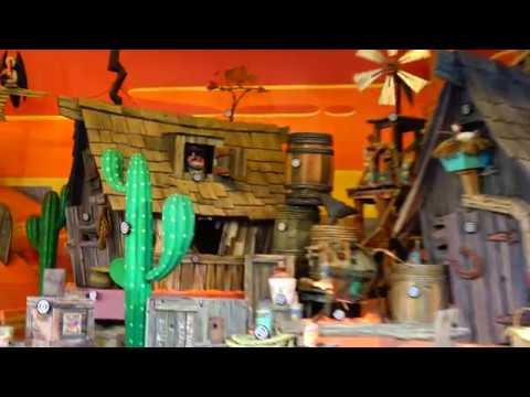 [4K] Disneyland Paris Rustler Roundup Shootin' Gallery Frontierland Adventureland