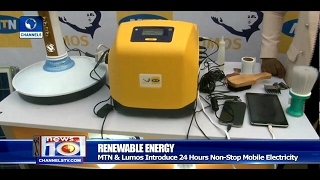 MTN & Lumos Introduce 24Hr Non-Stop Mobile Electricity