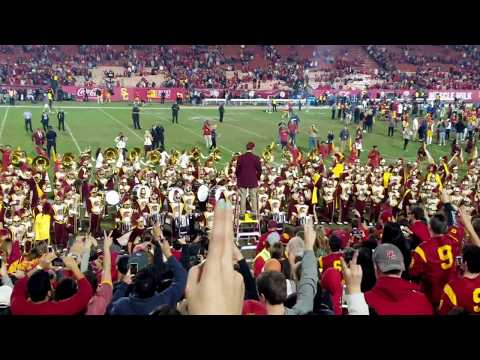USC Marching Band -Post UCLA VICTORY - TUSK