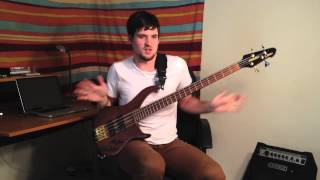 "RICK JAMES ""Give It To Me Baby"" - Bass Line Tutorial"