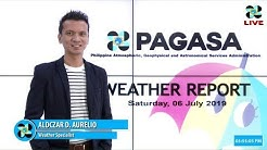 Public Weather Forecast Issued at 4:00 PM July 06, 2019
