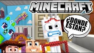 Escondidas en Minecraft con Forky   El Mejor Escondite   Juegos Karim Juega