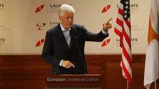 President Bill Clinton at EUC