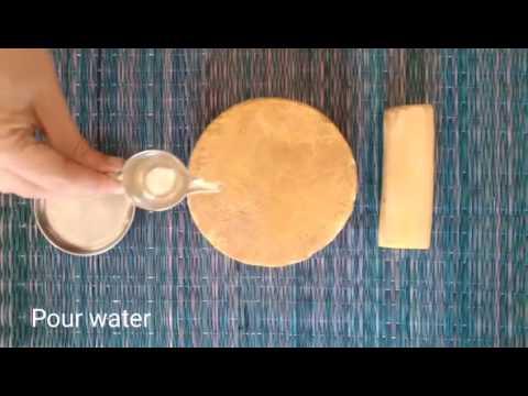 How to make Sandal Paste
