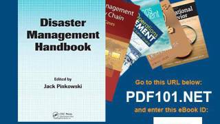 Disaster Management Handbook Public Administration and Public Policy