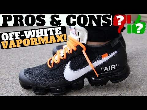 "PROS & CONS - THE 10: NIKE AIR VAPORMAX FK ""OFF-WHITE"" (REVIEW + ON FEET)"