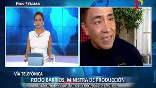"""Rocío Barrios: """"En ningún momento me reuní con Vieira en privado"""" thumbnail"""