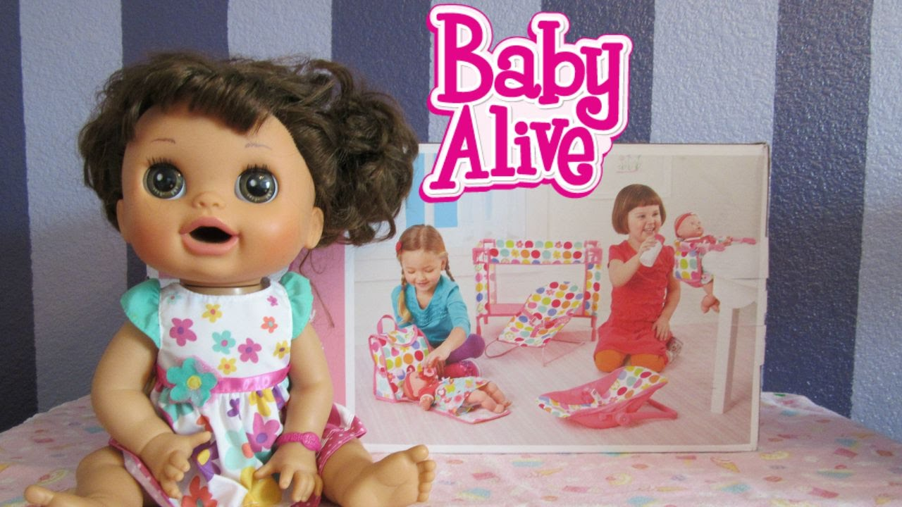 Baby Alive Doll Crib Set Circo Deluxe Nursery Playset