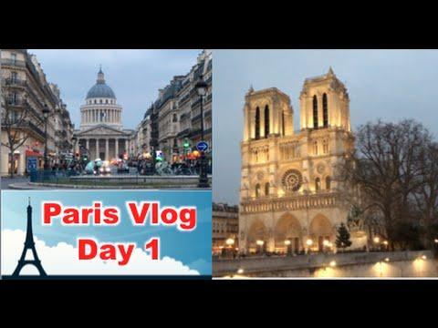 Paris Vlog: Exploring the Latin Quarter + Notre Dame {Day 1}