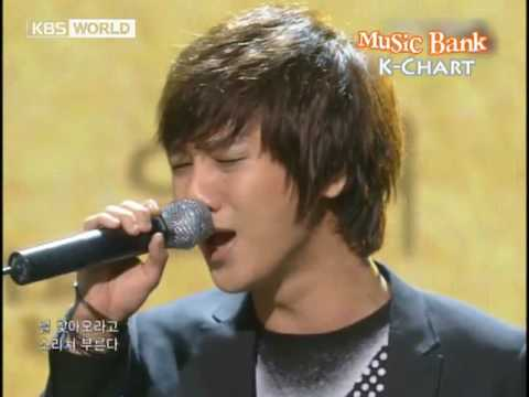 [K-Chart] 13. [▲3]  It Has To Be You - Yesung (Super Junior) (2010.6.4 / Music Bank Live)