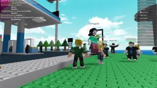ROBLOX Natural Disaster Survival 10 Game Challenge - PokeDragons vs. Gameer20