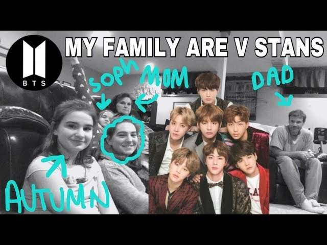 MY FAMILY ARE V STANS - BTS (방탄소년단) 'DNA' Official MV (REACTION) #1