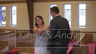 Kasey & Andy - Wedding Highlight Film - Mackey Wedding Films