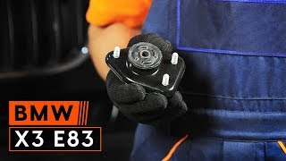Instalación Pastilla de freno BMW X3 (E83): vídeo gratis