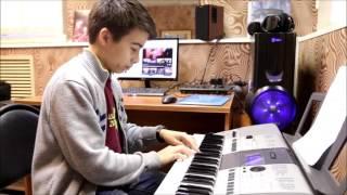 """""""Темная ночь"""" - урок игры на синтезаторе"""