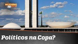 Os políticos trabalham em Brasília durante a Copa?