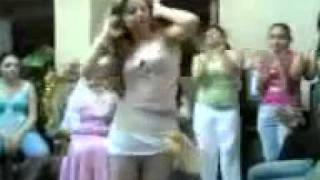 Really good dance by egyptian arab girl