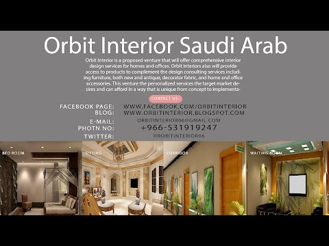 Interior Design & General Contracting Co in Riyadh Saudi Arab