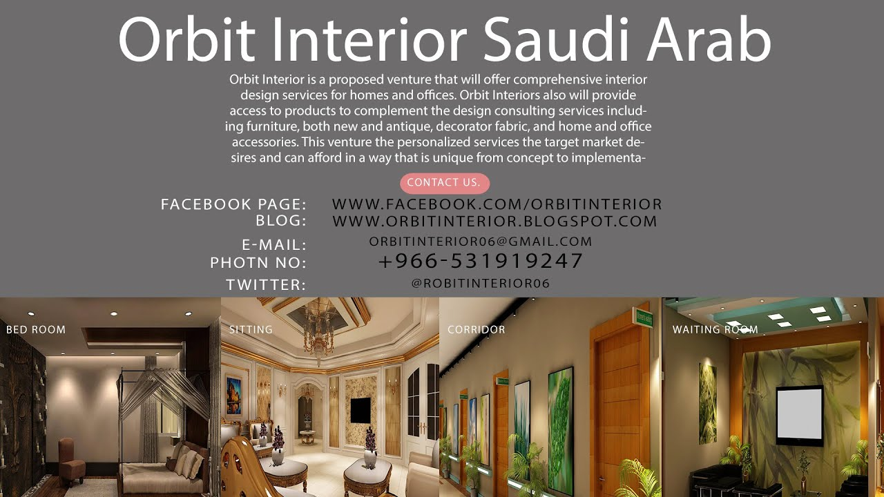 Interior Design General Contracting Co In Riyadh Saudi Arab