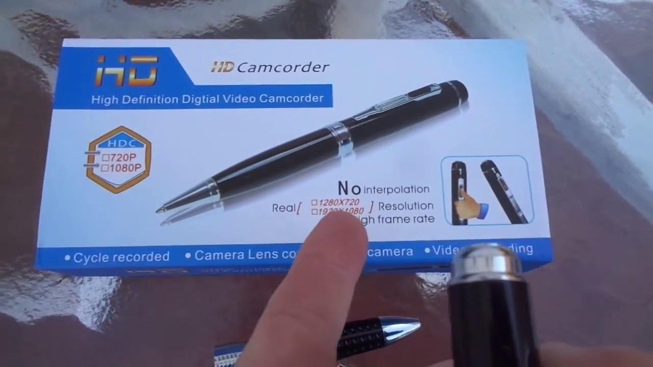 Full HD Pen Hidden Camera 1080P H.264 Mini USB Video Recorder Spy Camcorder DVR